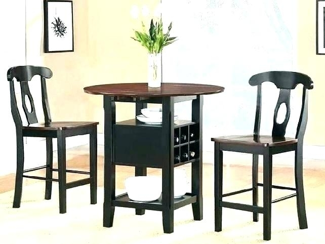 Small Dining Room Sets – Womanswisdom In Compact Dining Tables And Chairs (View 24 of 25)