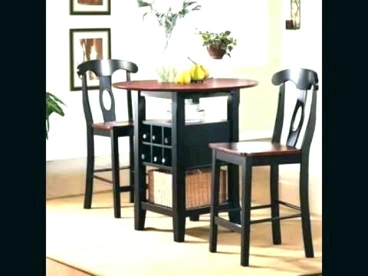 Small Dining Sets For 2 2 Chair Dining Table Two Chair Dining Set Intended For Dining Tables And 2 Chairs (Image 15 of 25)