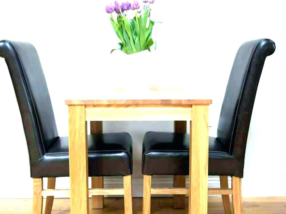 Small Dining Sets For 2 Small Dining Tables For 2 Small Kitchen Pertaining To Dining Tables And 2 Chairs (View 22 of 25)