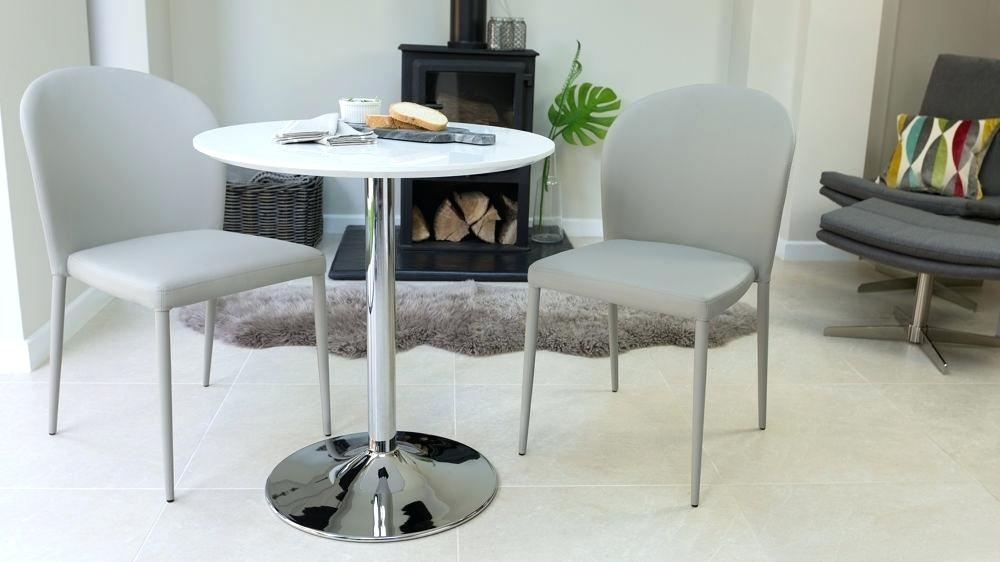 Small Dining Table 2 Chairs – Modern Computer Desk Cosmeticdentist Within Small Round White Dining Tables (Image 12 of 25)