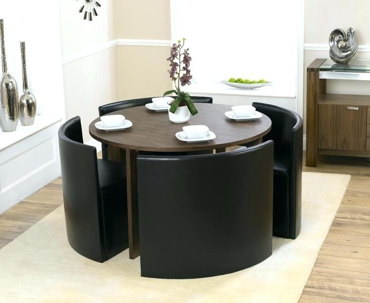 Small Dining Table And 4 Chairs Best Small Glass Dining Table And 4 Regarding Small 4 Seater Dining Tables (View 14 of 25)