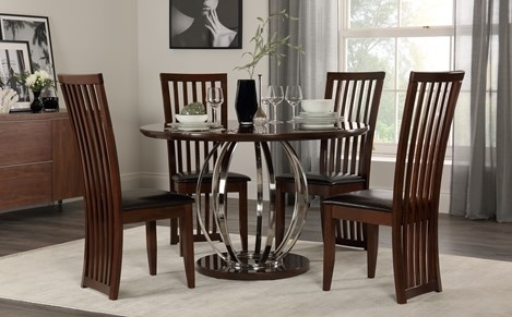 Small Dining Table & Chairs – Small Dining Sets | Furniture Choice Pertaining To Compact Dining Tables And Chairs (Image 20 of 25)