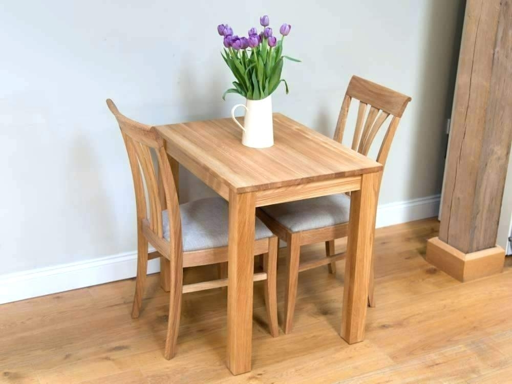 Small Dining Table Set For 2 – Explicame In Dining Table Sets For (View 5 of 25)