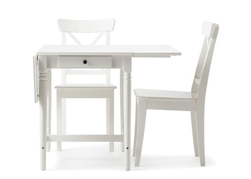 Featured Photo of Small White Dining Tables