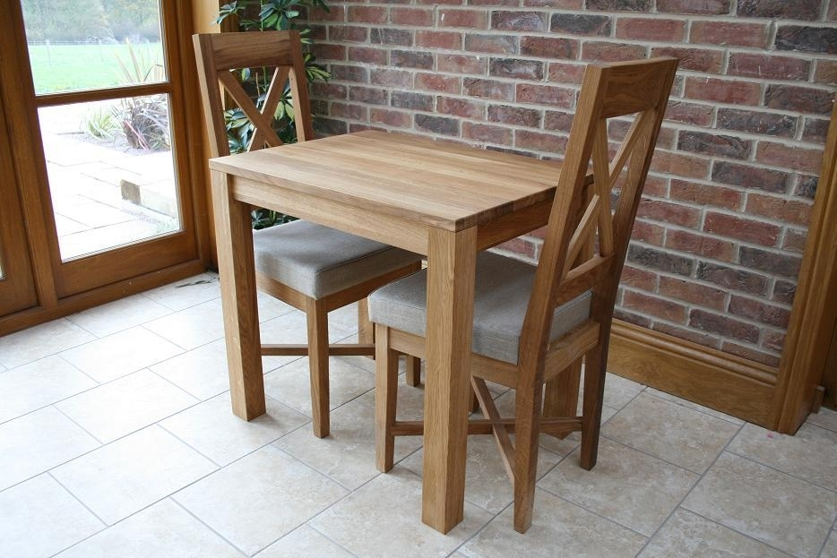 Small Dining Tables | Compact Dining Tables | Small Oak Tables In Compact Dining Tables And Chairs (Image 23 of 25)