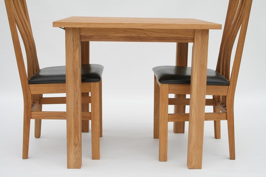 Small Dining Tables | Compact Dining Tables | Small Oak Tables Intended For Compact Dining Tables And Chairs (View 3 of 25)