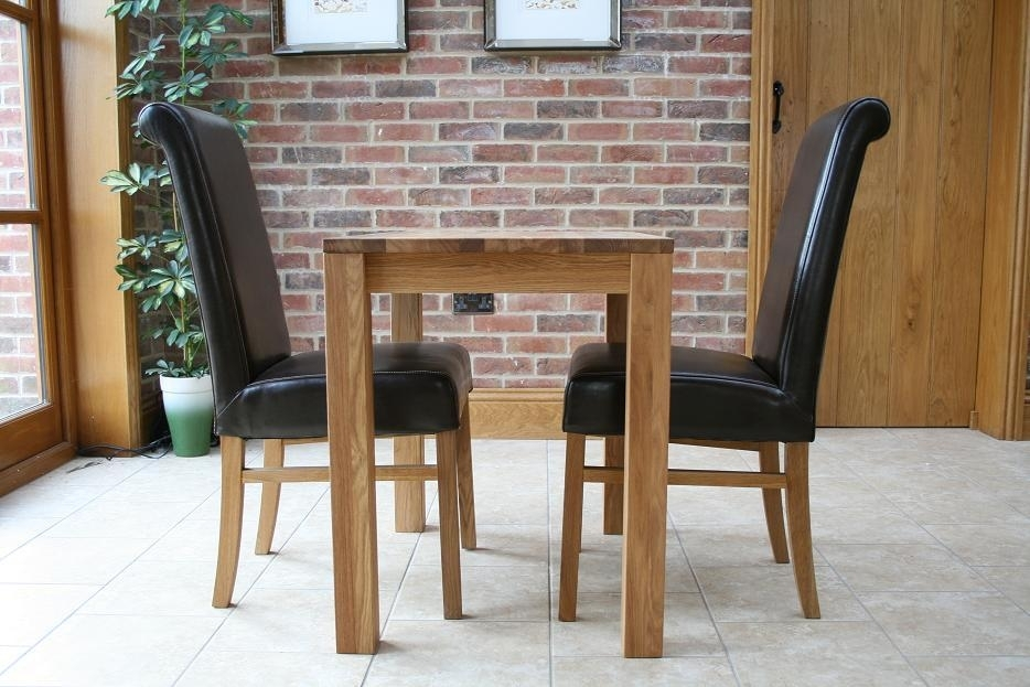 Small Dining Tables | Compact Dining Tables | Small Oak Tables Regarding Small Oak Dining Tables (View 21 of 25)