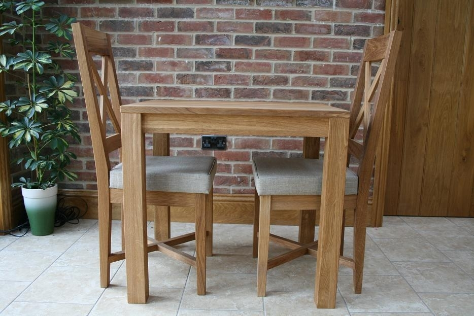 Small Dining Tables | Compact Dining Tables | Small Oak Tables With Small Oak Dining Tables (View 9 of 25)