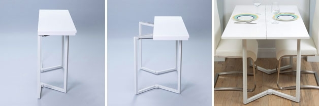 Small Dining Tables For 2 | The 6 Best Options (At An Affordable Price!) Inside Folding Dining Tables (Image 20 of 25)