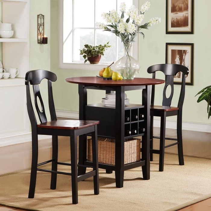 Small Dining Tables For Small Spaces | Minimalist Dining Tables For Within Dining Tables For Two (View 21 of 25)