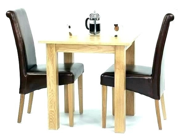 Small Drop Leaf Kitchen Table 2 Chairs Small Dining Table For 2 Throughout Dining Tables And 2 Chairs (Image 18 of 25)