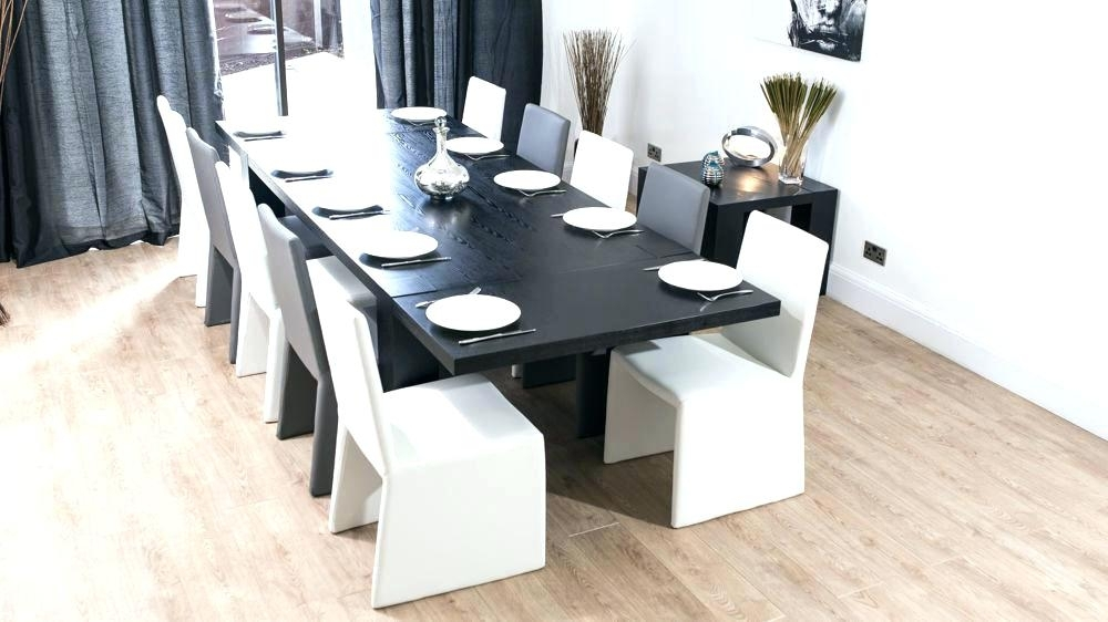 Small Extendable Dining Room Tables Long Narrow Extendable Dining Pertaining To Black Extendable Dining Tables And Chairs (Image 24 of 25)
