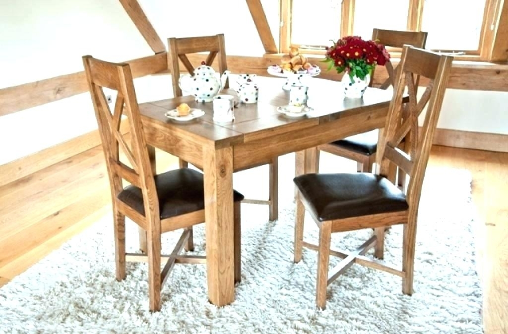 Small Extendable Dining Table Sets And 4 Chairs Tables Decoration With Regard To Extendable Dining Tables And 4 Chairs (View 24 of 25)