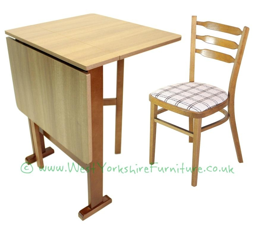 Small Folding Dining Table And Chairs – Home Design Reference Pertaining To Compact Folding Dining Tables And Chairs (Image 20 of 25)