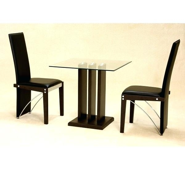 Small Glass Dining Table For 2 – Supplysource Intended For Small Dining Tables For  (Image 23 of 25)