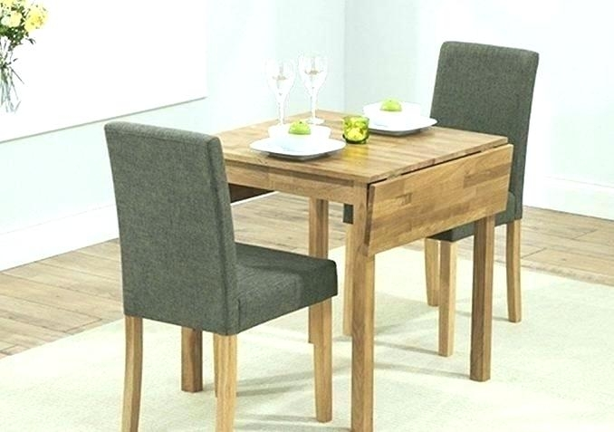 Small Kitchen Table With Two Chairs Small Dining Table And Two For Two Chair Dining Tables (Image 16 of 25)