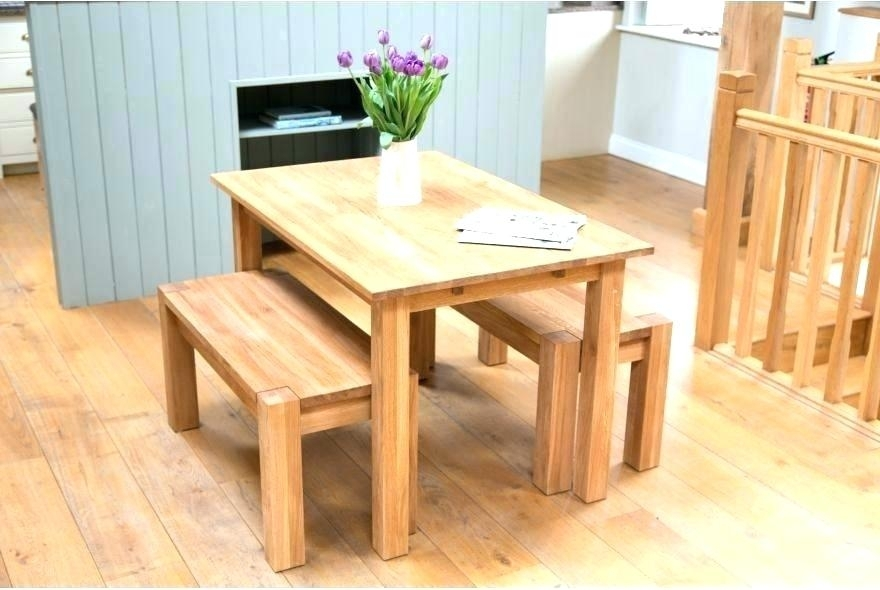 Small Oak Dining Set Table 4 Chairs Round Room Tables For Good Within Small Oak Dining Tables (View 22 of 25)