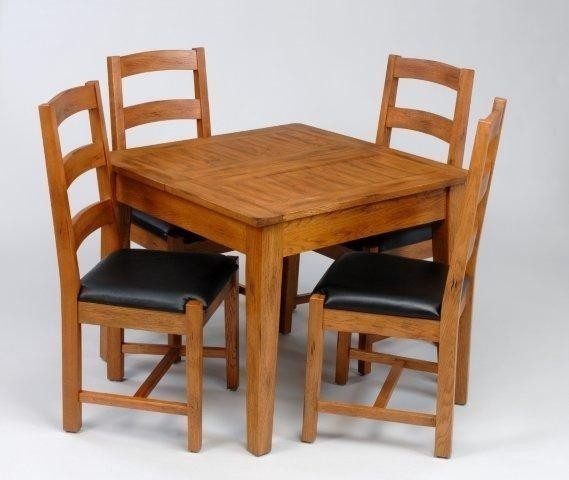Small Oak Dining Table And 4 Chairs Best Of Richmond Small Extending Regarding Small Extending Dining Tables And 4 Chairs (Image 22 of 25)
