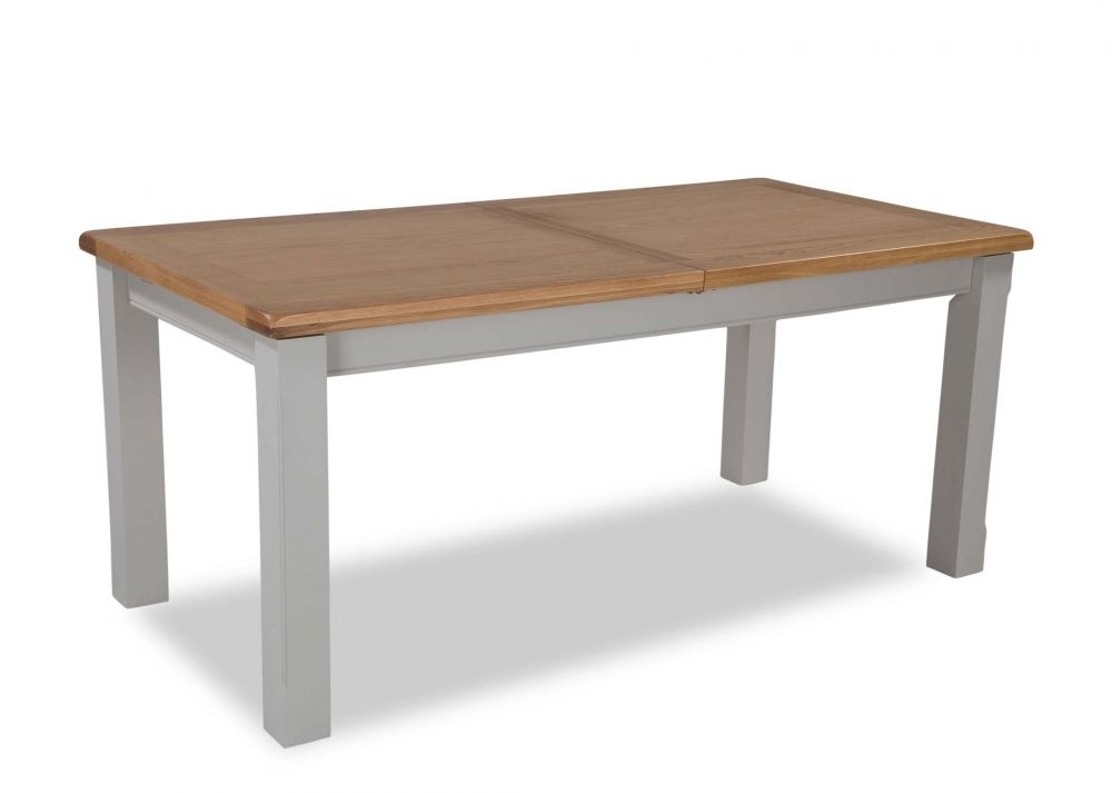 Small Oak Extendable Dining Table – Hudson – Ez Living Furniture With Regard To Small Oak Dining Tables (View 17 of 25)