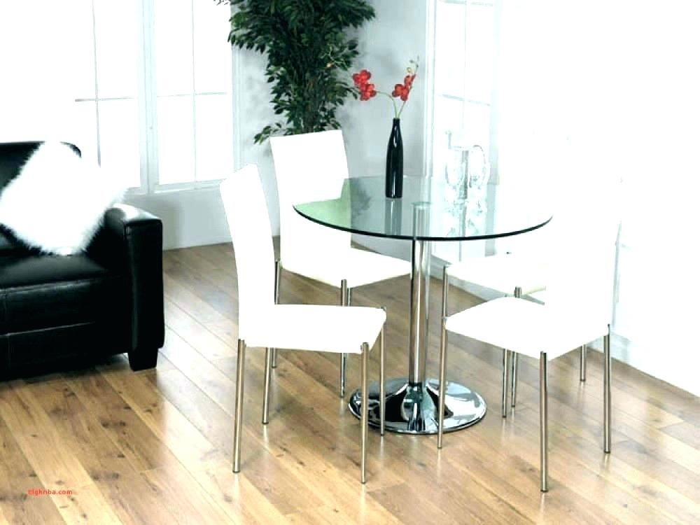Small Round Dining Room Table Round Dining Room Sets For 4 Dining With Regard To Small Dining Tables (Image 18 of 25)