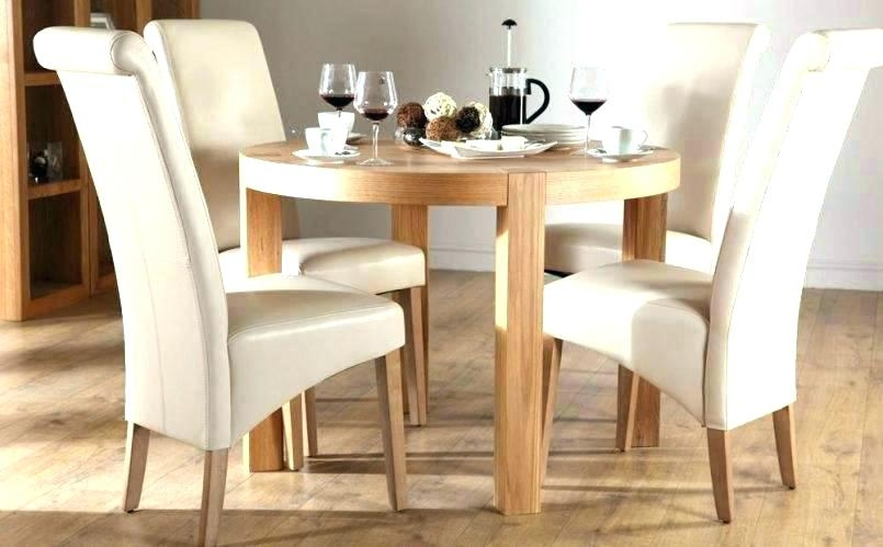 Small Round Dining Room Table Small Round Dining Table Set Farmhouse For Small Dining Sets (Image 21 of 25)
