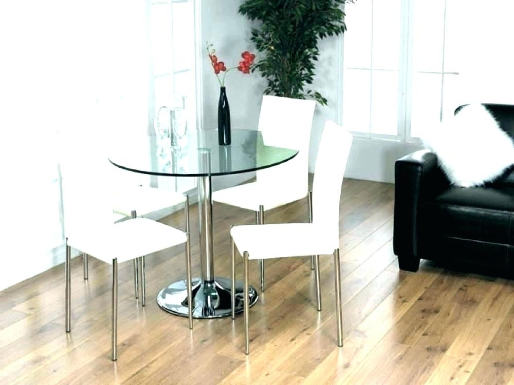 Small Round Kitchen Table Sets Small White Dining Set Small White For Small Round White Dining Tables (Image 15 of 25)