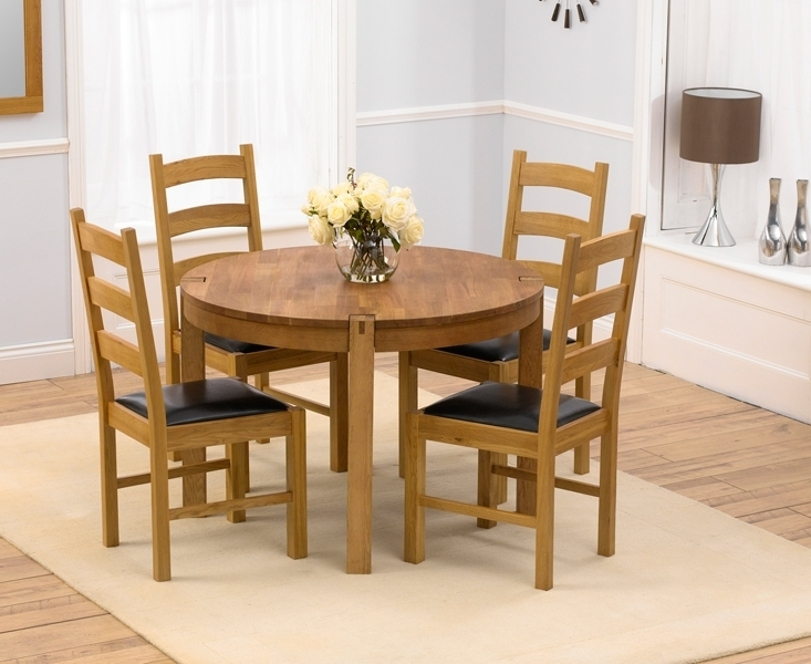 Small Round Kitchen Tables – Xuyuan Tables For Small Round Dining Table With 4 Chairs (Image 25 of 25)