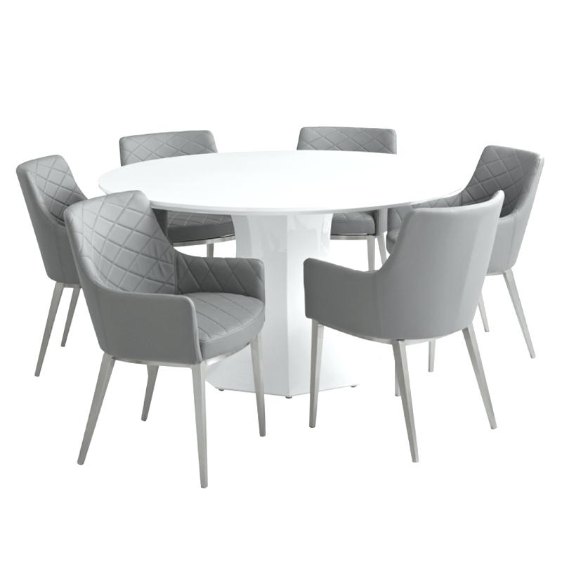 Small Round White Dining Table – Jroots Within Small Round White Dining Tables (Image 16 of 25)