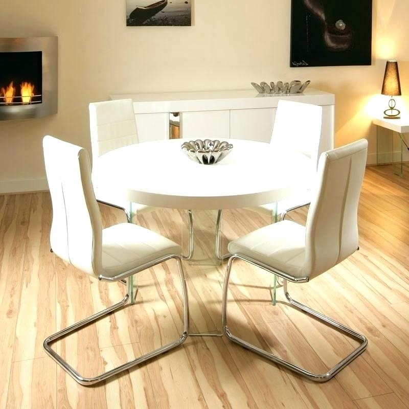 Small Round White Dining Table Small Round White Dining Table Throughout Small Round White Dining Tables (Image 18 of 25)