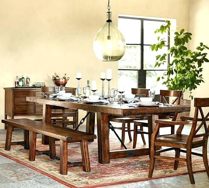 Small Rustic Dining Table Adorable Rustic Dining Room Sets Small Regarding Extending Rectangular Dining Tables (Image 22 of 25)