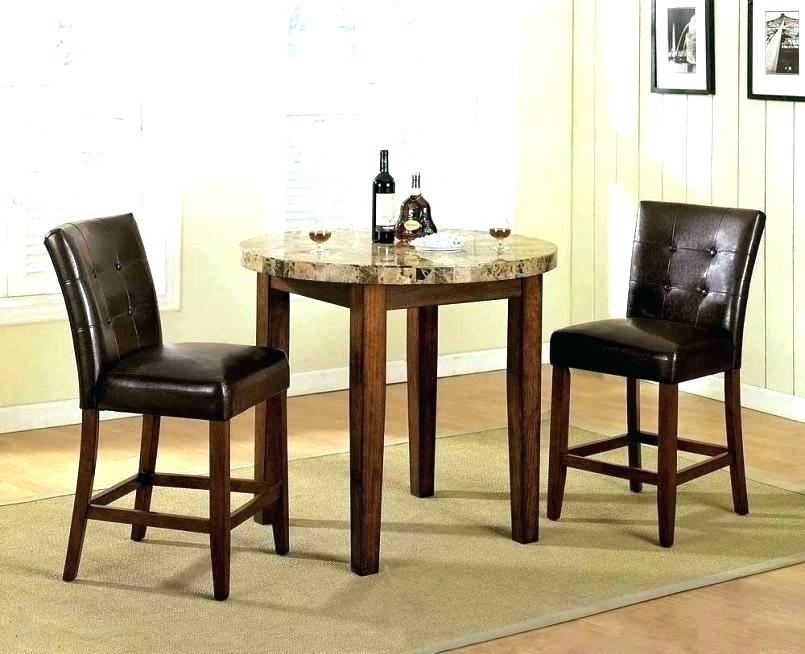 Small Table And 2 Chairs 2 Chair Dining Table 2 Chair Dining Set 2 Intended For Dining Tables And 2 Chairs (Image 19 of 25)