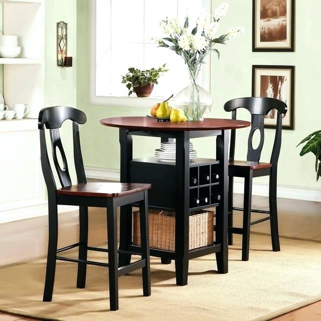 Small Table For Two Small Kitchen Table And 2 Chairs Two Person Regarding Small Two Person Dining Tables (Image 15 of 25)