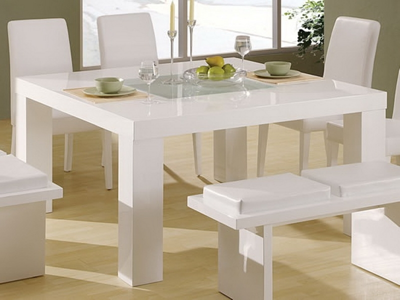 Small White Kitchen Table Credainatcon White Kitchen Table And In Small White Dining Tables (View 16 of 25)