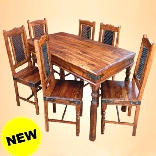 Smart Indian Wood Dining Table Interesting Ideas Sheesham Dining For Indian Wood Dining Tables (View 16 of 25)