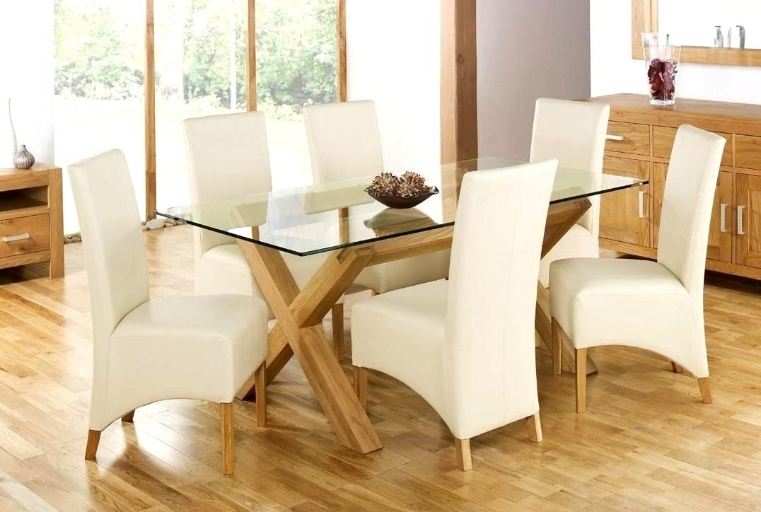 Smart Oak Glass Dining Tables Ideas Gorgeous Design For Oak Dinning Intended For Oak And Glass Dining Tables And Chairs (View 17 of 25)