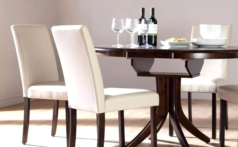 Smart White Leather Dining Room Chairs Modern Black Om Chairs And With White Leather Dining Room Chairs (View 12 of 25)