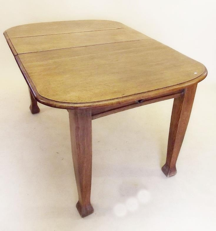 Smiths Of Newent : An Edwardian Small Oak Dining Table With Inside Small Oak Dining Tables (View 24 of 25)