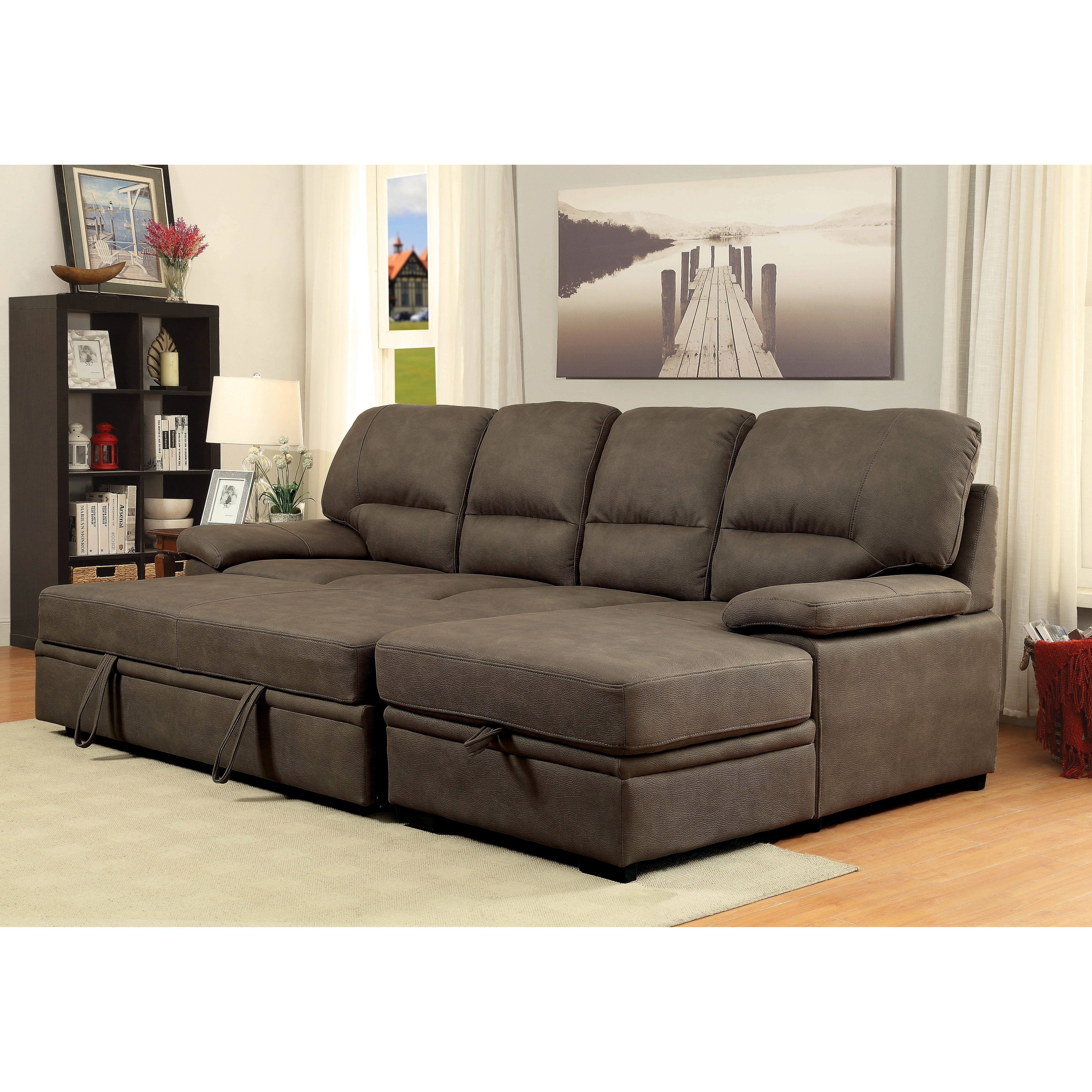 Sofa Bed Sectional | Aifaresidency Pertaining To Aspen 2 Piece Sleeper Sectionals With Laf Chaise (View 20 of 25)