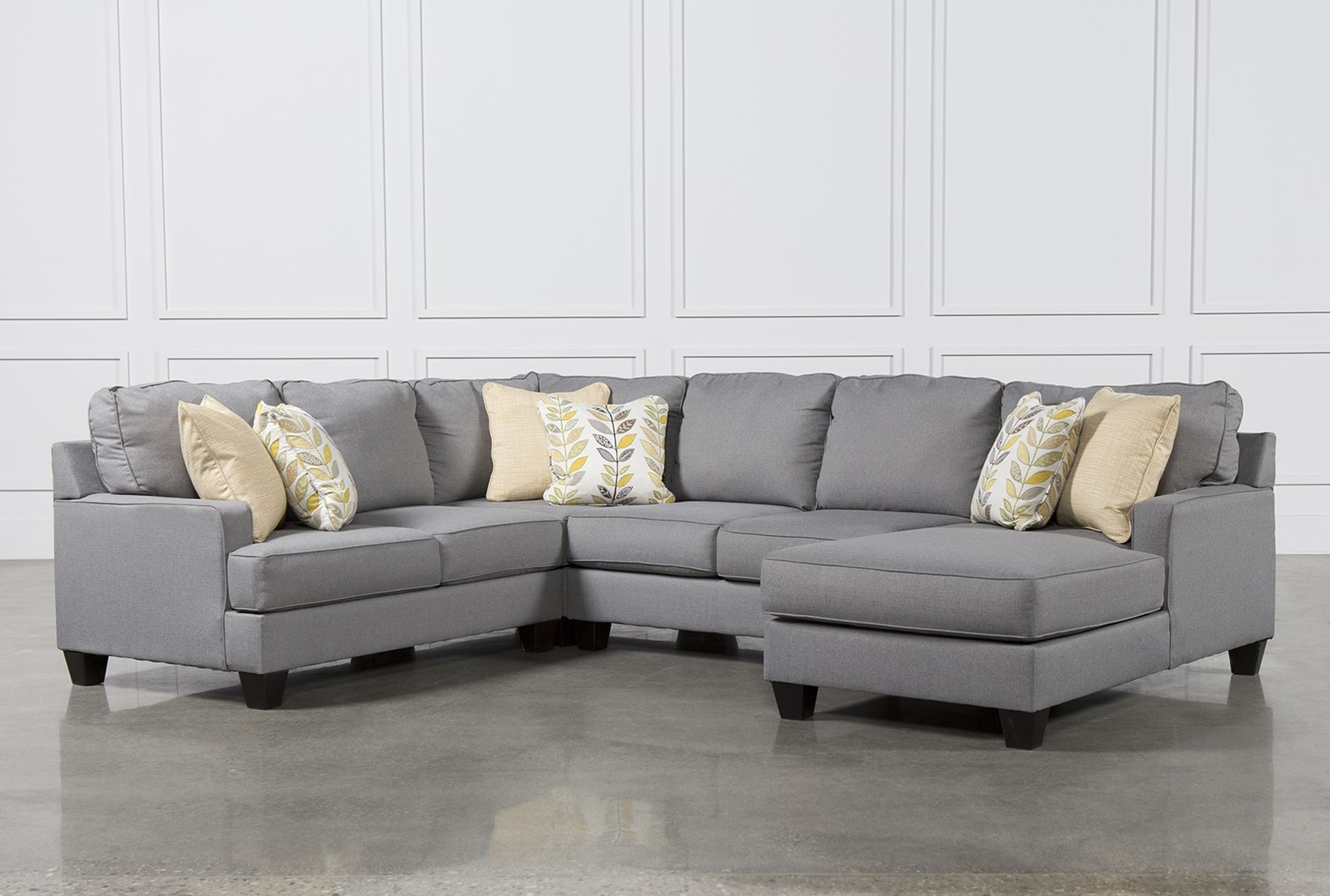 Sofa: Comfort And Stylish Patola Park Sectional — Laetapaparaguay Intended For Meyer 3 Piece Sectionals With Raf Chaise (View 12 of 25)