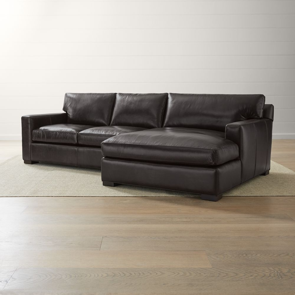 Sofá Rinconera Modelo Soft Inside Lucy Dark Grey 2 Piece Sectionals With Raf Chaise (Image 25 of 25)