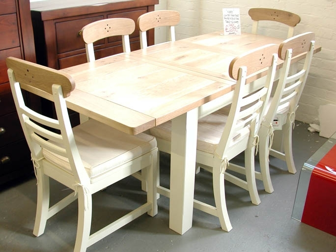 Sofa Sale | Famous Furniture Clearance | Dining Furniture Within Oak Extending Dining Tables And 6 Chairs (Image 21 of 25)