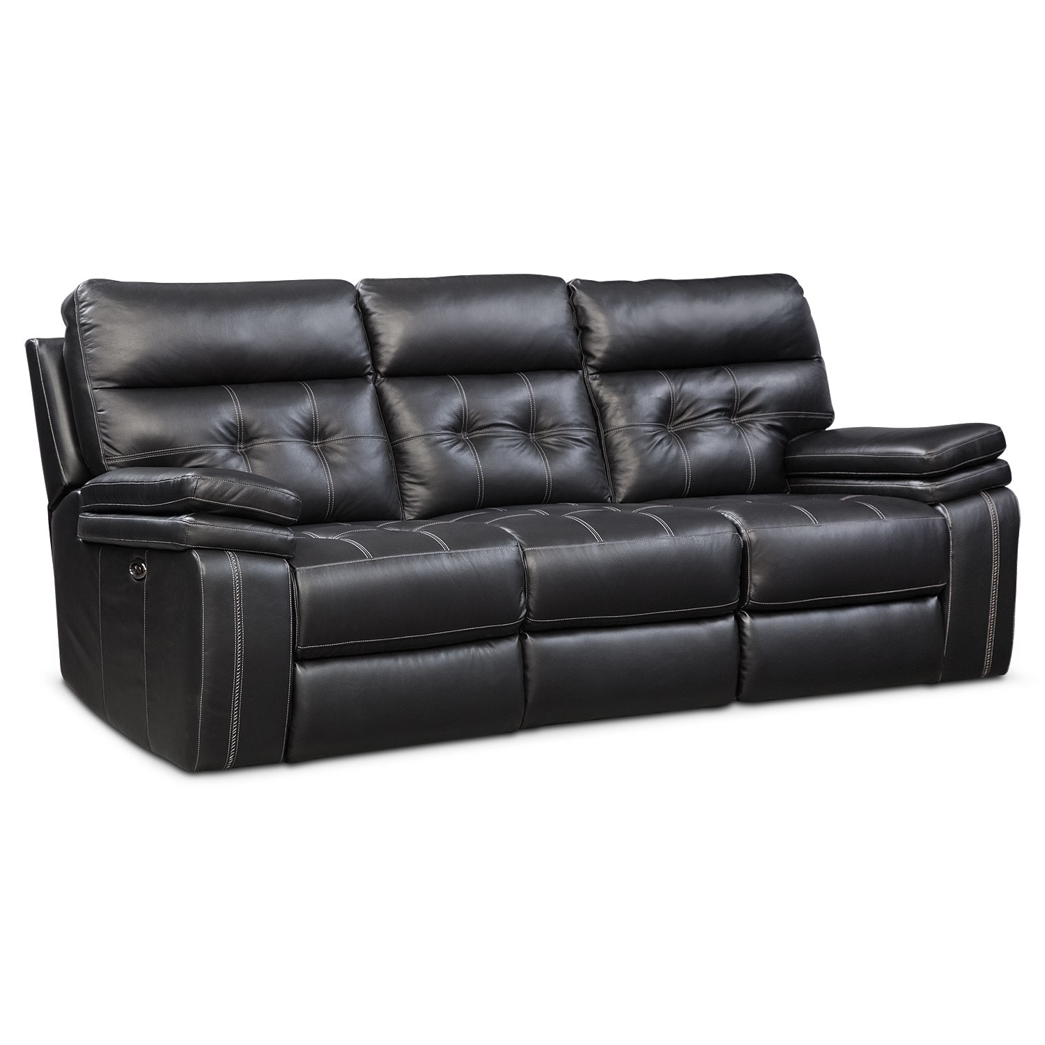 Sofas And Couches | Living Room Seating | Value City Furniture And For Marcus Chocolate 6 Piece Sectionals With Power Headrest And Usb (Image 24 of 25)
