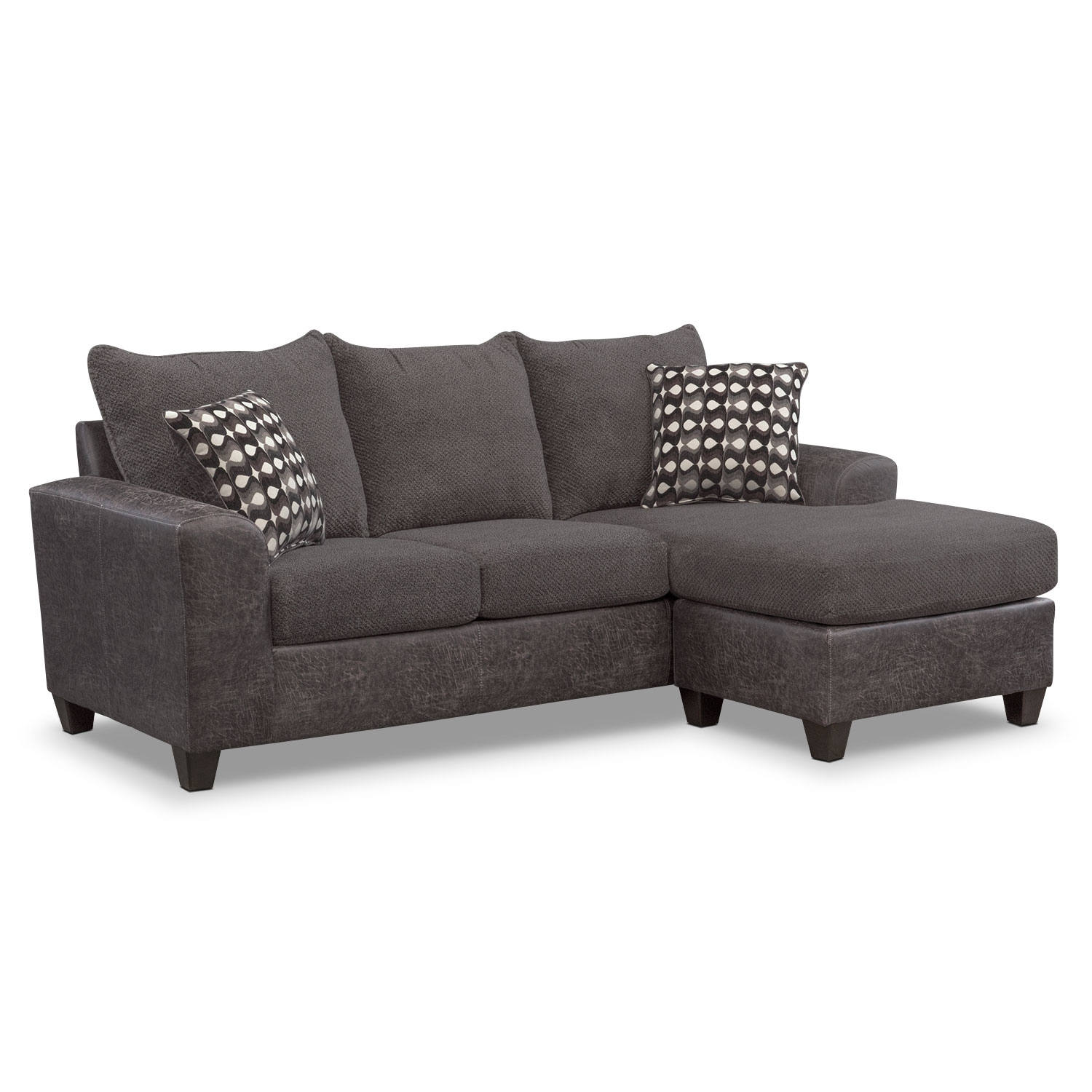 Sofas & Couches | Living Room Seating | Value City Furniture Intended For Marcus Grey 6 Piece Sectionals With  Power Headrest & Usb (Image 24 of 25)