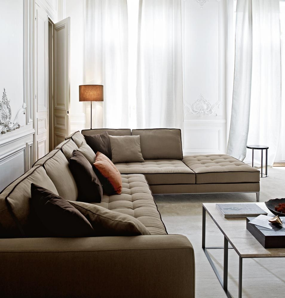 Sofas: Lucrezia – Collection: Maxalto – Design: Antonio Citterio | F With London Optical Reversible Sofa Chaise Sectionals (Image 23 of 25)