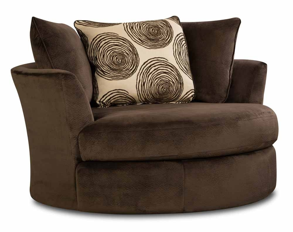 Soft Brown Microfiber Two Piece Sectional Sofa | American Freight Pertaining To Norfolk Chocolate 6 Piece Sectionals With Raf Chaise (Image 23 of 25)
