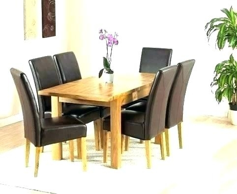 Solid Oak Extending Dining Table And 6 Chairs Round Room For Within Oak Extending Dining Tables And Chairs (View 19 of 25)