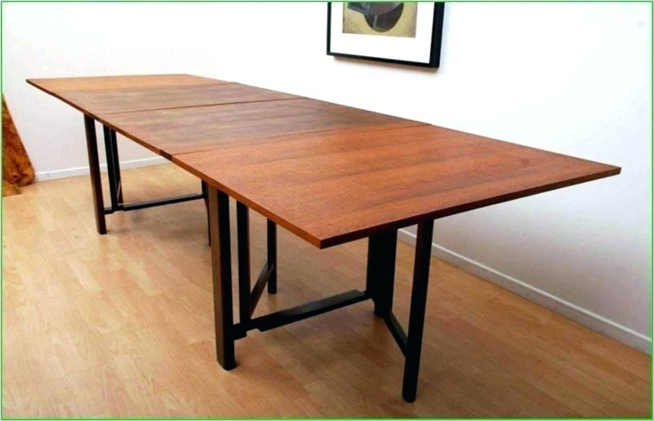 Solid Wood Extension Dining Table – Home Design Regarding Wood Folding Dining Tables (View 24 of 25)