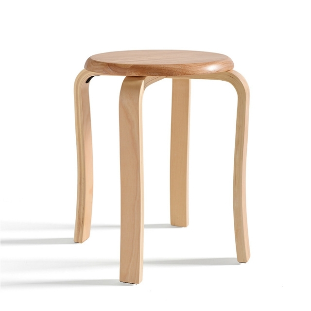 Solid Wood Stool Adult Dining Stool Non Slip Reinforcement Dressing Pertaining To Non Wood Dining Tables (Image 23 of 25)