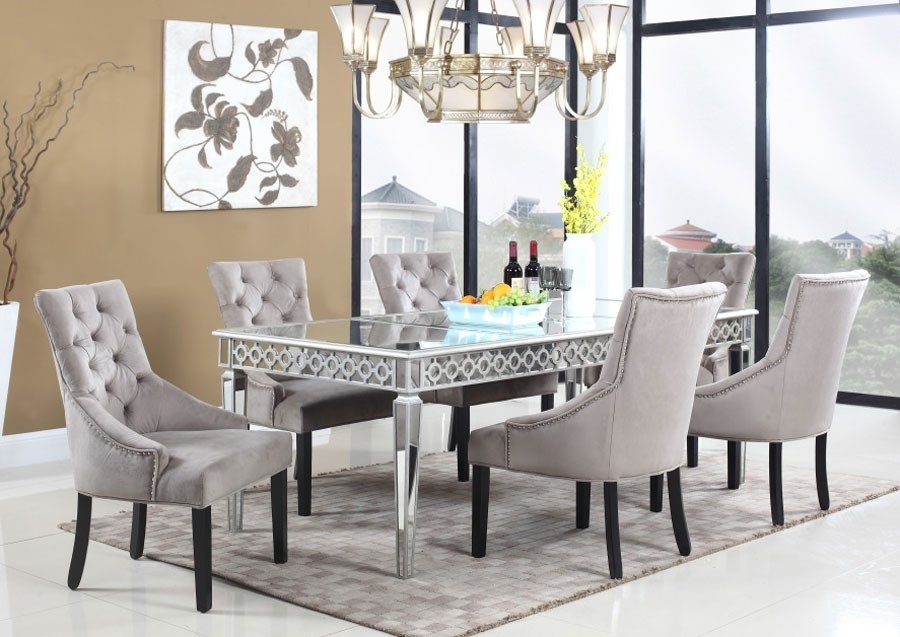Featured Image of Mirrored Dining Tables