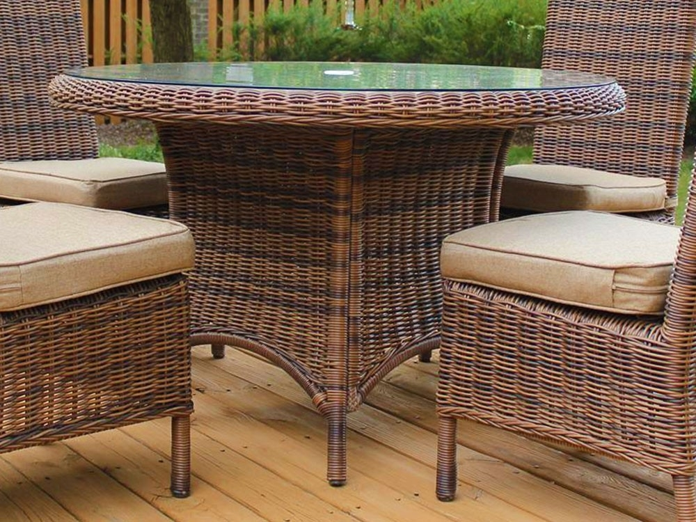 Featured Photo of Rattan Dining Tables